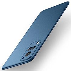 Custodia Plastica Rigida Cover Opaca M01 per Vivo X60 5G Blu