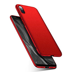 Custodia Plastica Rigida Cover Opaca M01 per Xiaomi Mi 8 Screen Fingerprint Edition Rosso