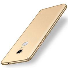 Custodia Plastica Rigida Cover Opaca M01 per Xiaomi Redmi 5 Plus Oro
