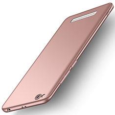 Custodia Plastica Rigida Cover Opaca M01 per Xiaomi Redmi 5A Oro Rosa