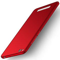 Custodia Plastica Rigida Cover Opaca M01 per Xiaomi Redmi 5A Rosso