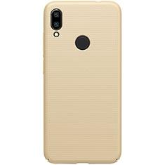 Custodia Plastica Rigida Cover Opaca M01 per Xiaomi Redmi 7 Oro
