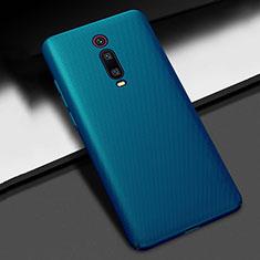 Custodia Plastica Rigida Cover Opaca M01 per Xiaomi Redmi K20 Blu