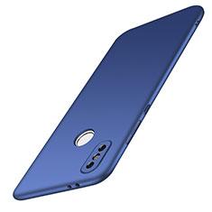 Custodia Plastica Rigida Cover Opaca M01 per Xiaomi Redmi Note 5 AI Dual Camera Blu