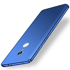 Custodia Plastica Rigida Cover Opaca M01 per Xiaomi Redmi Note 5 Indian Version Blu