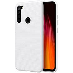 Custodia Plastica Rigida Cover Opaca M01 per Xiaomi Redmi Note 8T Bianco