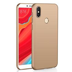 Custodia Plastica Rigida Cover Opaca M01 per Xiaomi Redmi S2 Oro
