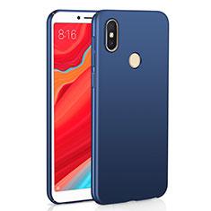 Custodia Plastica Rigida Cover Opaca M01 per Xiaomi Redmi Y2 Blu