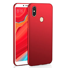 Custodia Plastica Rigida Cover Opaca M01 per Xiaomi Redmi Y2 Rosso