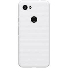 Custodia Plastica Rigida Cover Opaca M02 per Google Pixel 3a Bianco