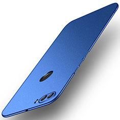 Custodia Plastica Rigida Cover Opaca M02 per Huawei Enjoy 8 Plus Blu