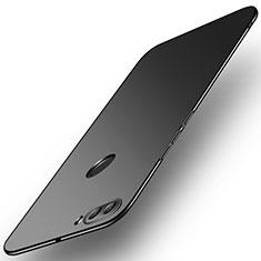 Custodia Plastica Rigida Cover Opaca M02 per Huawei Enjoy 8 Plus Nero