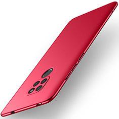 Custodia Plastica Rigida Cover Opaca M02 per Huawei Mate 20 Rosso