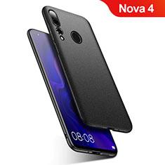 Custodia Plastica Rigida Cover Opaca M02 per Huawei Nova 4 Nero