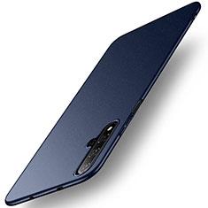 Custodia Plastica Rigida Cover Opaca M02 per Huawei Nova 5T Blu