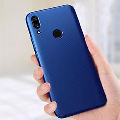 Custodia Plastica Rigida Cover Opaca M02 per Huawei P Smart Z Blu