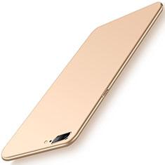 Custodia Plastica Rigida Cover Opaca M02 per OnePlus 5 Oro