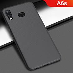 Custodia Plastica Rigida Cover Opaca M02 per Samsung Galaxy A6s Nero