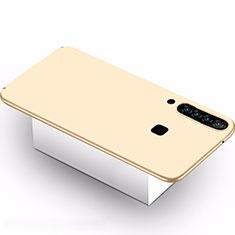 Custodia Plastica Rigida Cover Opaca M02 per Samsung Galaxy A9s Oro