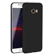 Custodia Plastica Rigida Cover Opaca M02 per Samsung Galaxy C7 SM-C7000 Nero