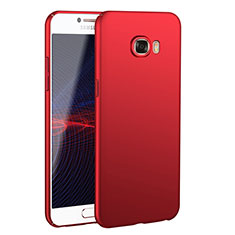 Custodia Plastica Rigida Cover Opaca M02 per Samsung Galaxy C7 SM-C7000 Rosso