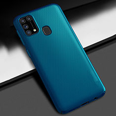 Custodia Plastica Rigida Cover Opaca M02 per Samsung Galaxy M21s Blu