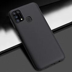 Custodia Plastica Rigida Cover Opaca M02 per Samsung Galaxy M21s Nero