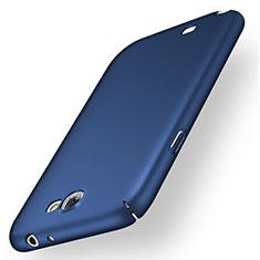 Custodia Plastica Rigida Cover Opaca M02 per Samsung Galaxy Note 2 N7100 N7105 Blu