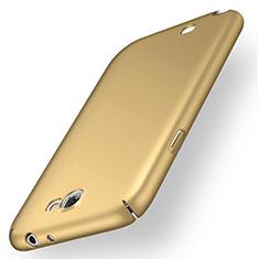 Custodia Plastica Rigida Cover Opaca M02 per Samsung Galaxy Note 2 N7100 N7105 Oro