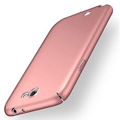 Custodia Plastica Rigida Cover Opaca M02 per Samsung Galaxy Note 2 N7100 N7105 Oro Rosa