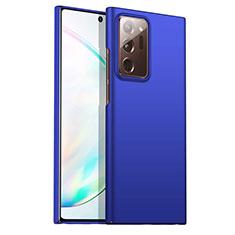 Custodia Plastica Rigida Cover Opaca M02 per Samsung Galaxy Note 20 Ultra 5G Blu