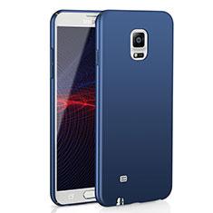 Custodia Plastica Rigida Cover Opaca M02 per Samsung Galaxy Note 4 SM-N910F Blu
