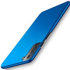 Custodia Plastica Rigida Cover Opaca M02 per Samsung Galaxy S21 Plus 5G Blu