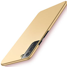 Custodia Plastica Rigida Cover Opaca M02 per Samsung Galaxy S21 Plus 5G Oro