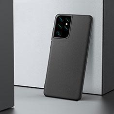 Custodia Plastica Rigida Cover Opaca M02 per Samsung Galaxy S21 Ultra 5G Nero