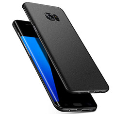 Custodia Plastica Rigida Cover Opaca M02 per Samsung Galaxy S7 Edge G935F Nero
