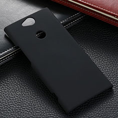 Custodia Plastica Rigida Cover Opaca M02 per Sony Xperia XA2 Nero