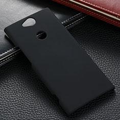 Custodia Plastica Rigida Cover Opaca M02 per Sony Xperia XA2 Plus Nero