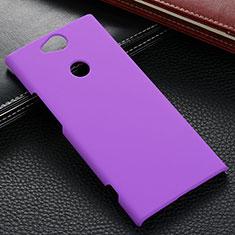 Custodia Plastica Rigida Cover Opaca M02 per Sony Xperia XA2 Plus Viola