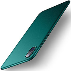 Custodia Plastica Rigida Cover Opaca M02 per Xiaomi Mi 8 Screen Fingerprint Edition Verde
