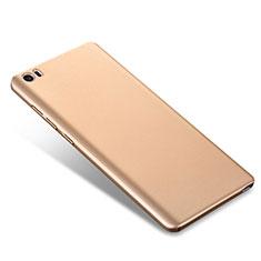 Custodia Plastica Rigida Cover Opaca M02 per Xiaomi Mi Note Oro
