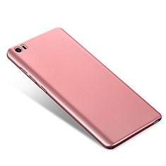 Custodia Plastica Rigida Cover Opaca M02 per Xiaomi Mi Note Oro Rosa