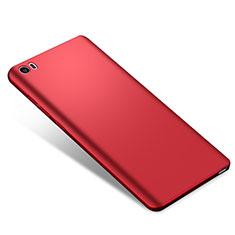 Custodia Plastica Rigida Cover Opaca M02 per Xiaomi Mi Note Rosso