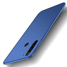 Custodia Plastica Rigida Cover Opaca M02 per Xiaomi Redmi Note 8 Blu
