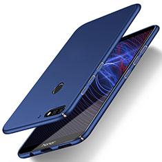 Custodia Plastica Rigida Cover Opaca M03 per Huawei Enjoy 8 Blu
