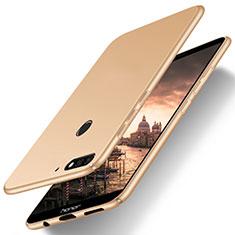 Custodia Plastica Rigida Cover Opaca M03 per Huawei Enjoy 8 Oro