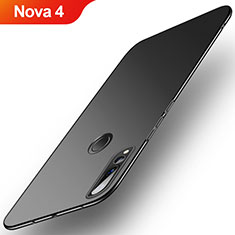Custodia Plastica Rigida Cover Opaca M03 per Huawei Nova 4 Nero