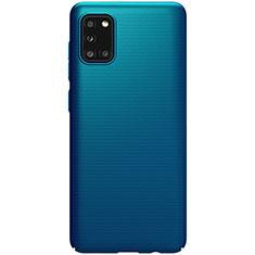 Custodia Plastica Rigida Cover Opaca M03 per Samsung Galaxy A31 Blu