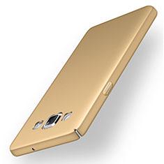 Custodia Plastica Rigida Cover Opaca M03 per Samsung Galaxy A5 Duos SM-500F Oro
