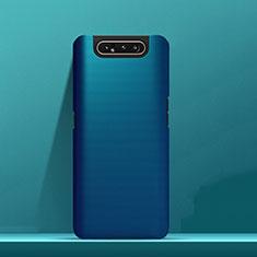 Custodia Plastica Rigida Cover Opaca M03 per Samsung Galaxy A80 Blu